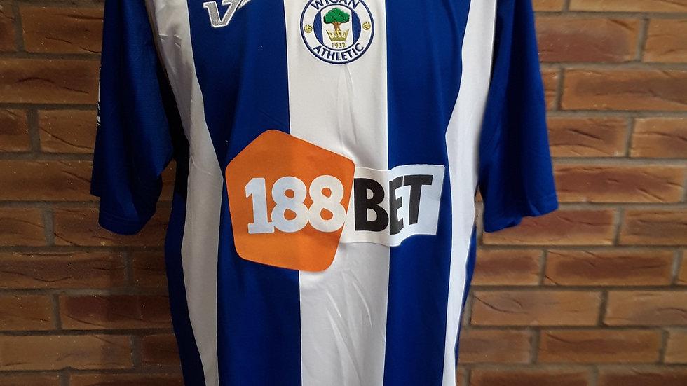Wigan Athletic Shirt 2009. XL mens.