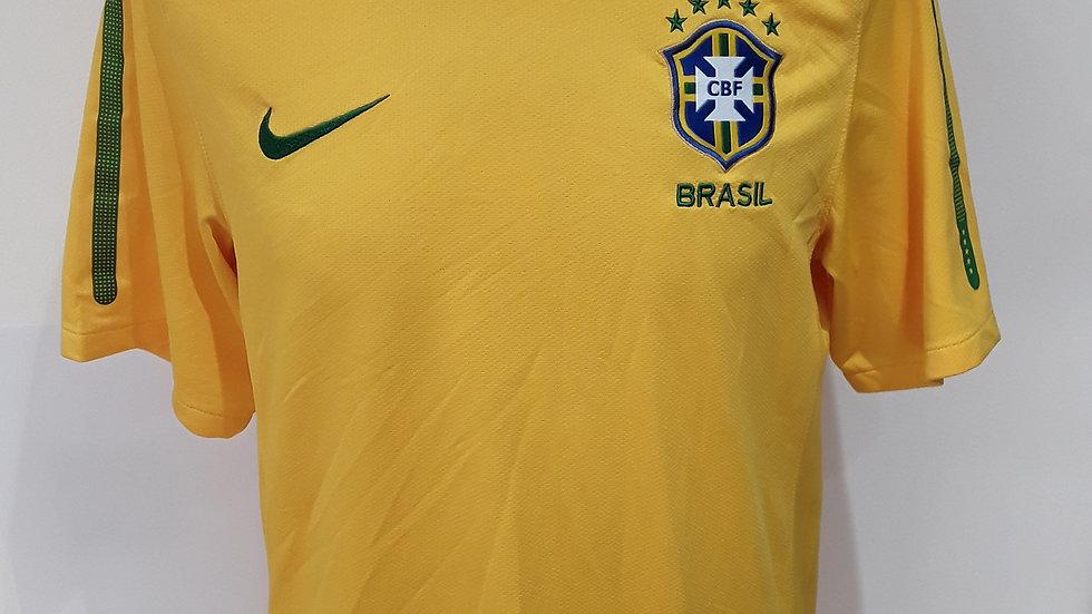 Brazil Home Shirt 2010. S