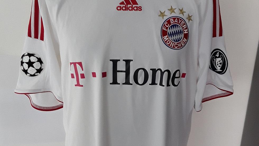 Bayern Munich Away Shirt 2008 European Shirt