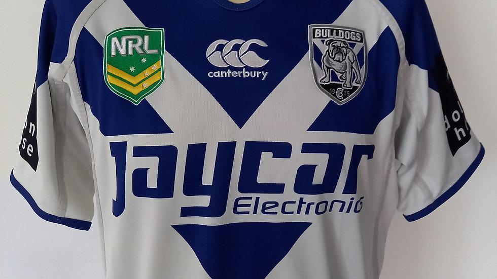Canterbury Bulldogs Rugby League Shirt M