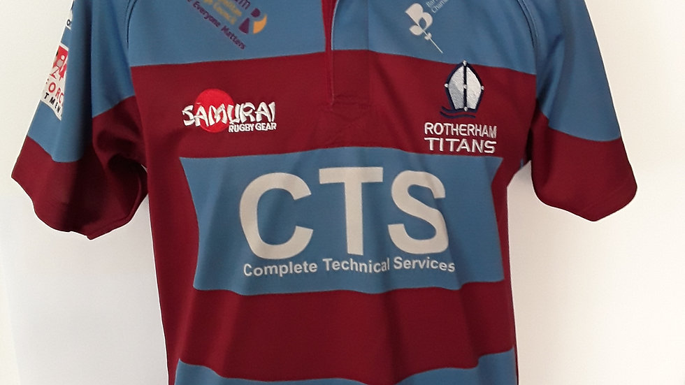 Rotherham Titans Rugby Union Shirt M