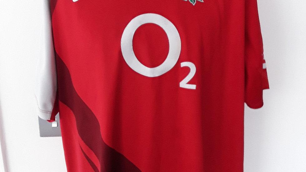 England Rugby Union Shirt XXL