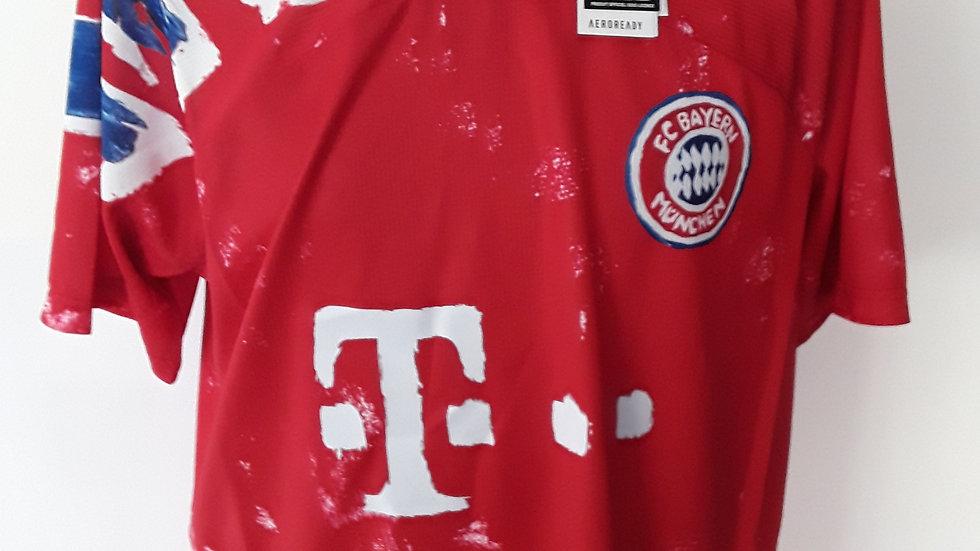 Bayern Munich Humanrace Home Shirt. L