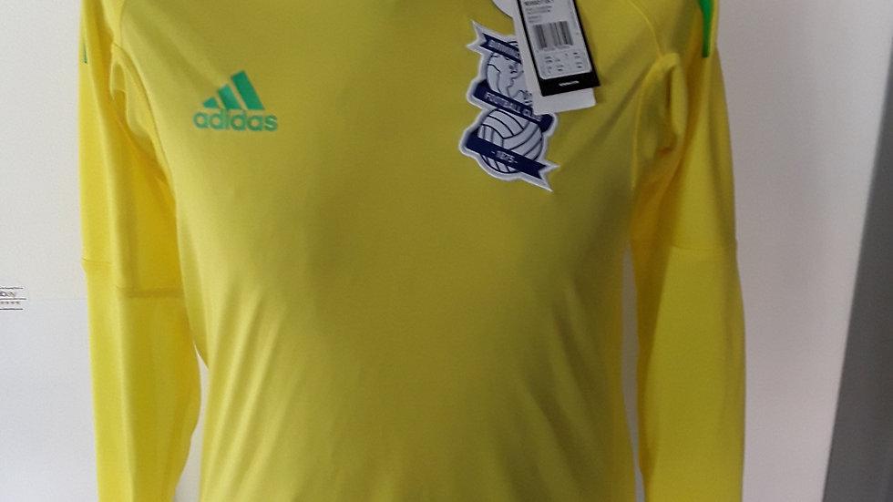 Birmingham City Goalkeeper Shirt.