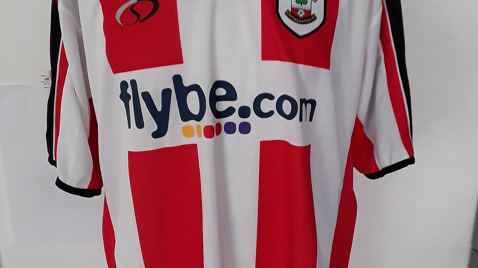Southampton FC Player Issue Shirt 2006-08 XL