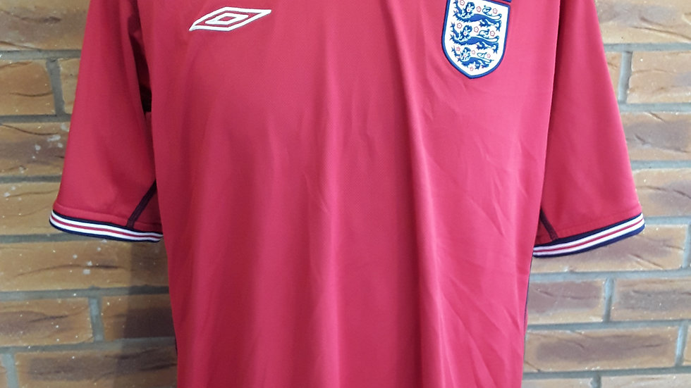 Vintage 2002 Reversable England Shirt