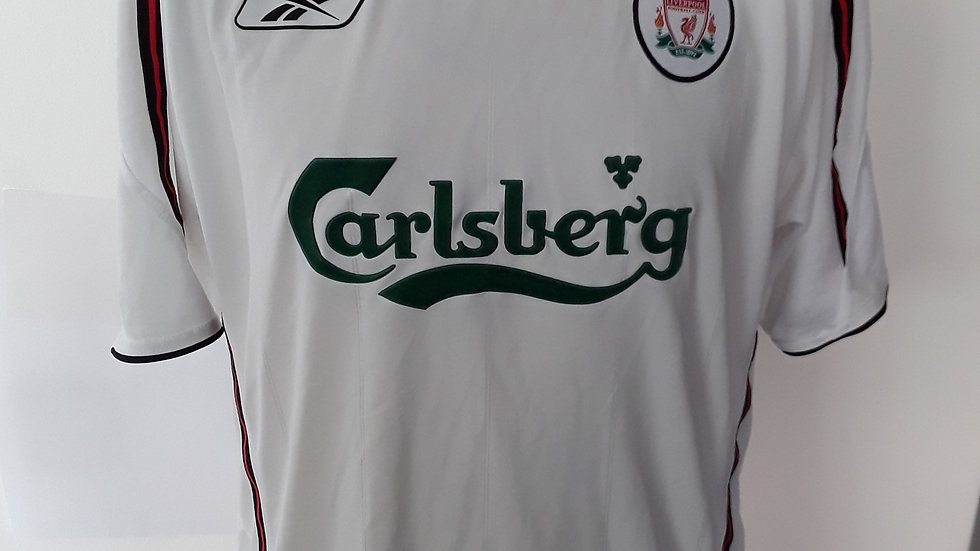 Liverpool FC 2005 Away Shirt M