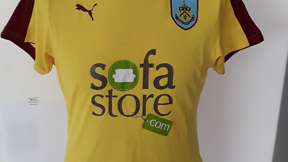 Burnley Away Shirt XS.