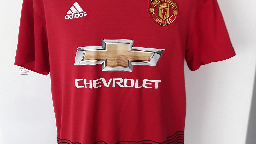 Manchester United Home Shirt 2018 M
