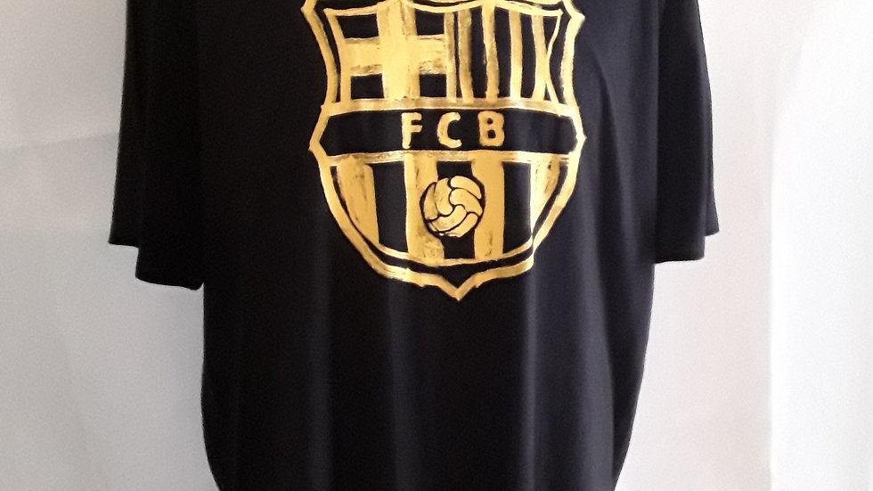 Official FC Barcelona T Shirt XL Mens
