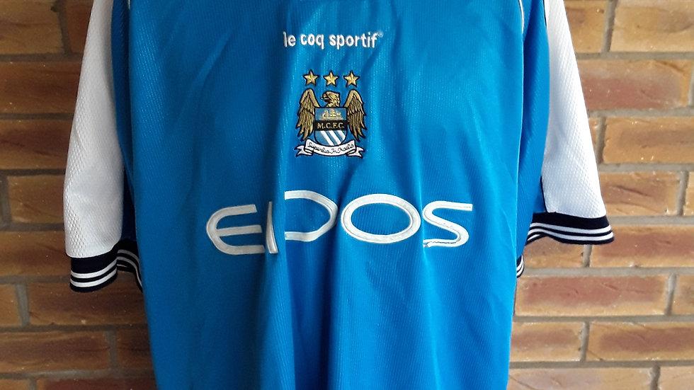 Manchester City 2001 Shirt