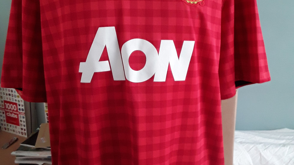 Manchester United Home Shirt 2012