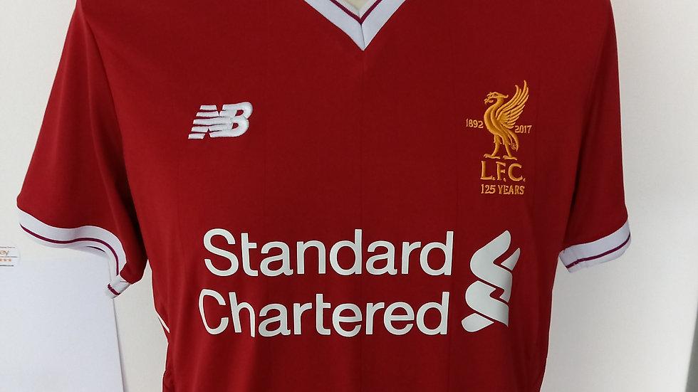 Liverpool Home Shirt Small Mens