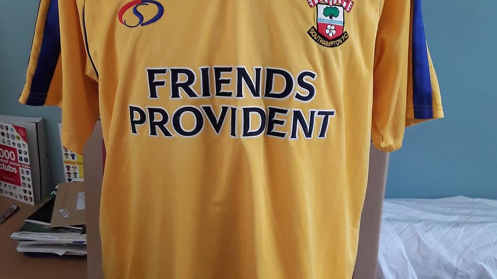 Vintage Southampton FC Shirt 2002 Away