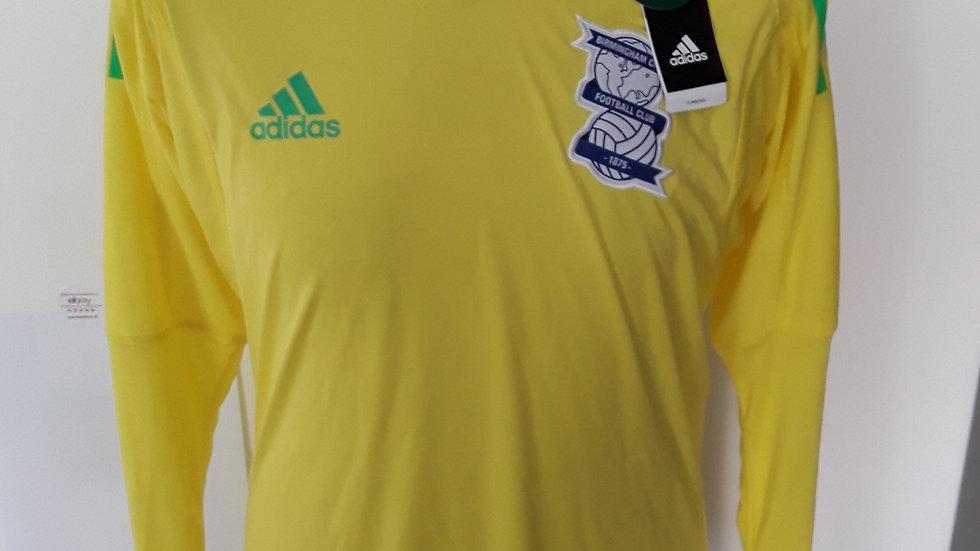 Birmingham City FC  Goalkeeper Shirt. S