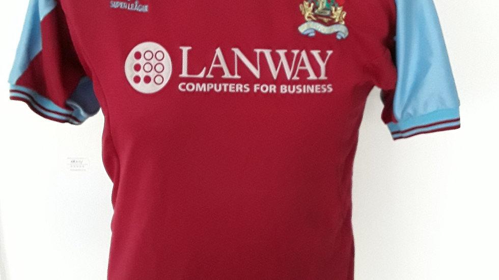 Vintage 2001 Burnley FC Shirt