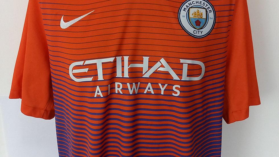 Manchester City 3rd Shirt 2016. XL