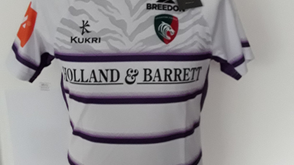 Leicester Tigers Ladies Away Shirt 10