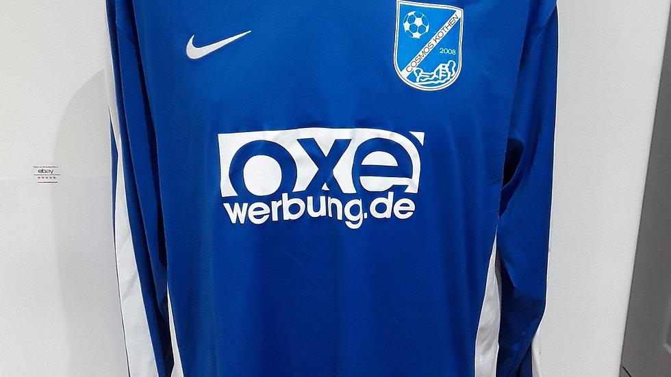 Match worn Cosmos Kothen Shirt.L