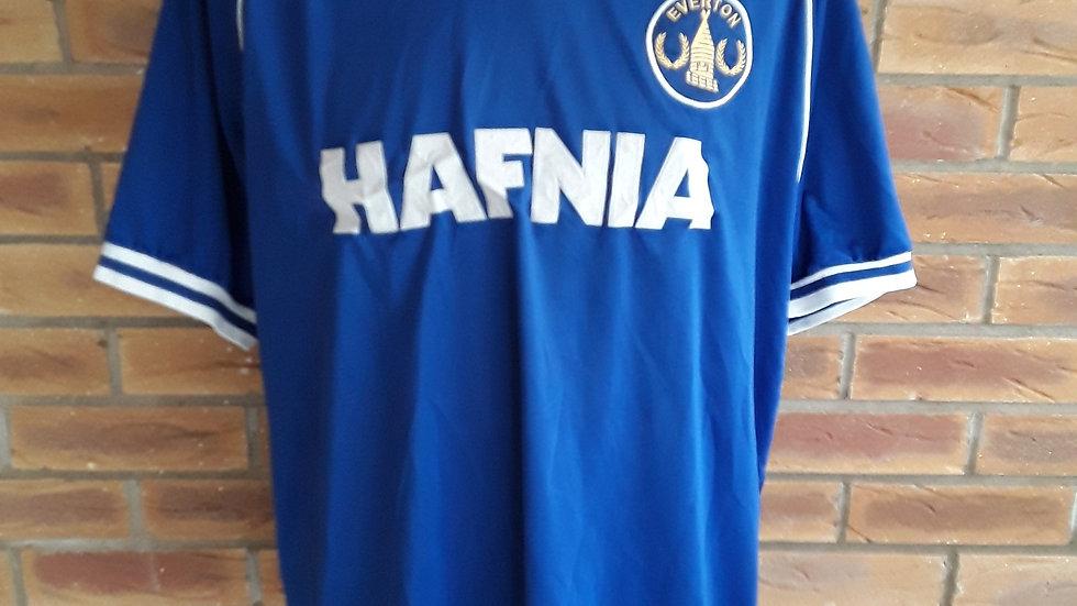 Everton Shirt XL Hafnia