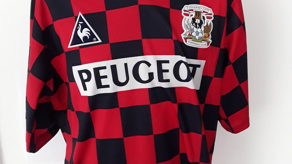 Coventry City FC Away Shirt 1996 L