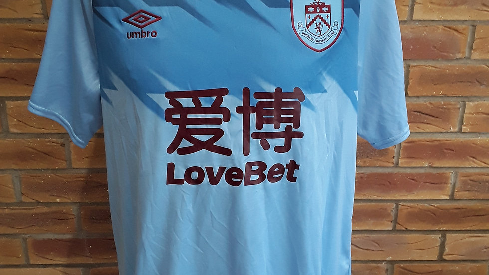 Burnley Away Shirt Brand New With Tags L