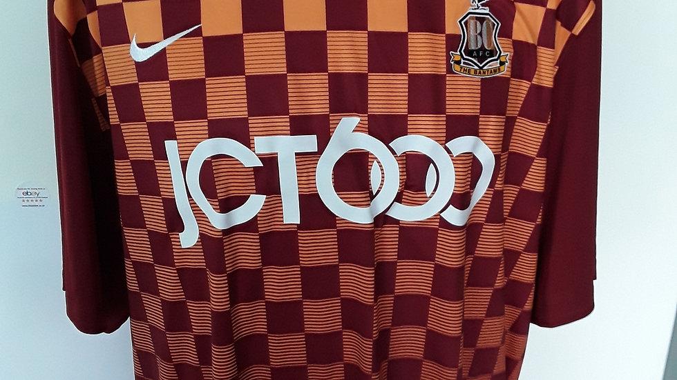 Bradford City FC Shirt XXL Brand new.