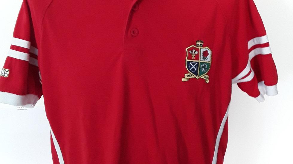 British Lions Polo shirt 2005 Vintage Shirt.