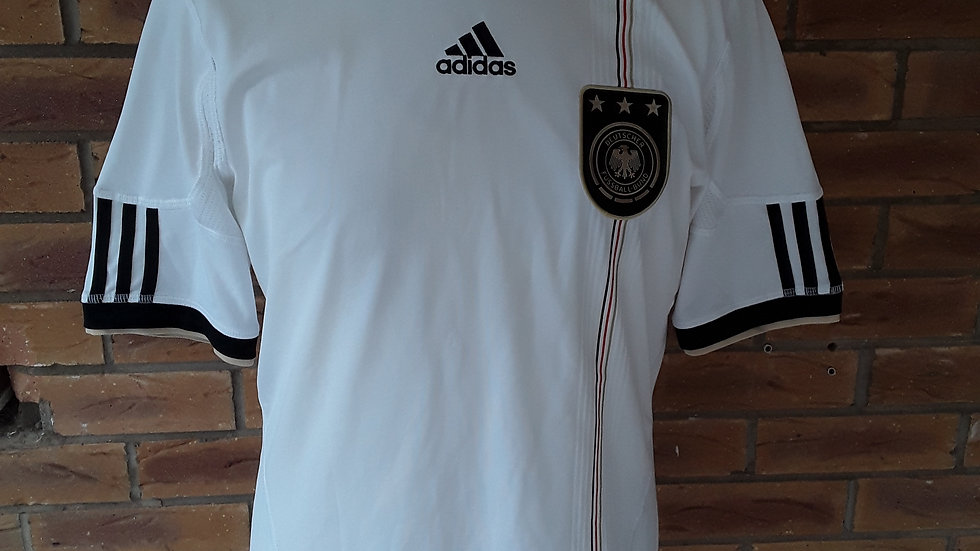 Germany Home Shirt 2010 Small Mens