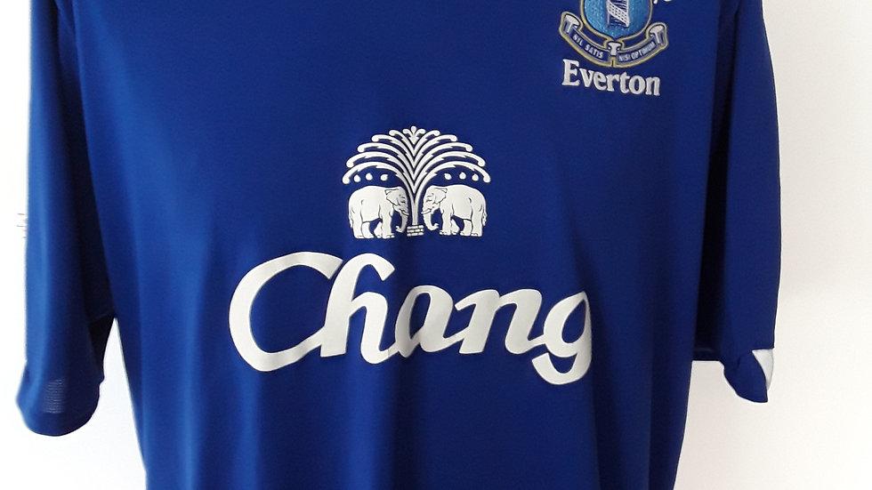 Everton Home Shirt.