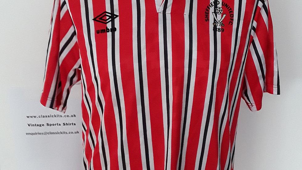 Sheffield United Home Shirt 1990. S
