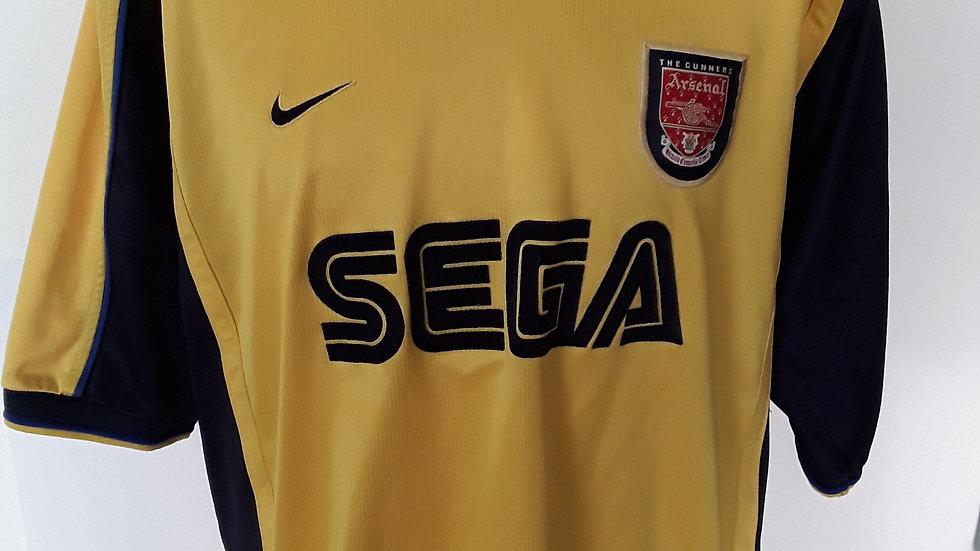 Arsenal Away Shirt 1999. XL