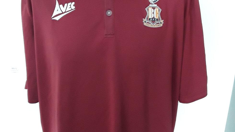 Bradford City FC polo shirt XXL