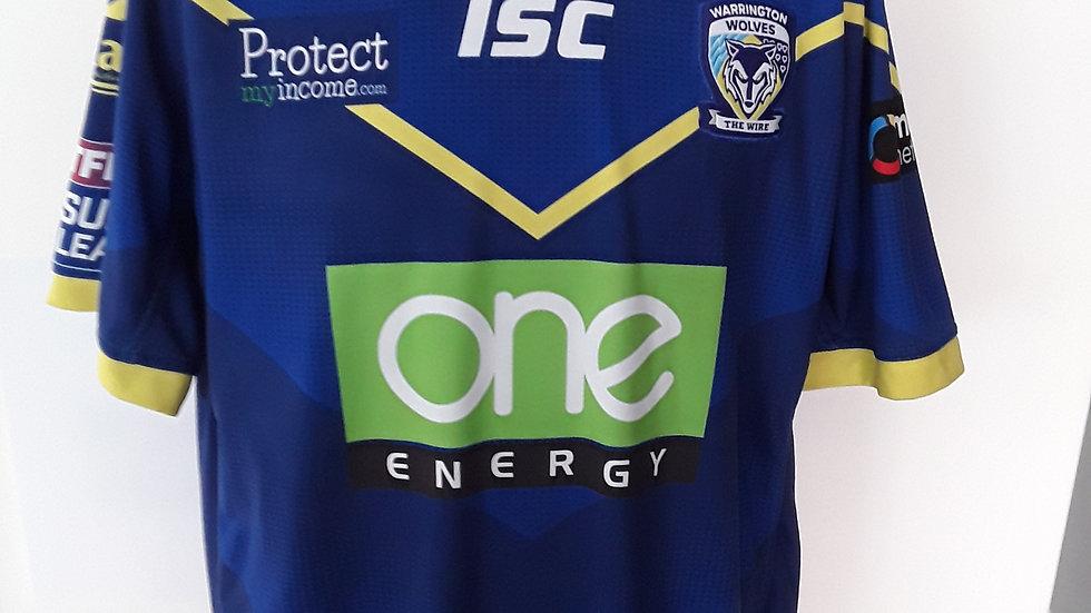 Warrington Wolves Home Shirt XXL.
