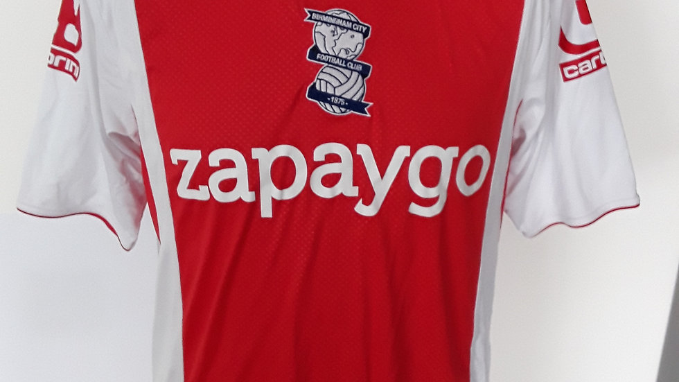 Birmingham City FC Away Shirt 2014. S