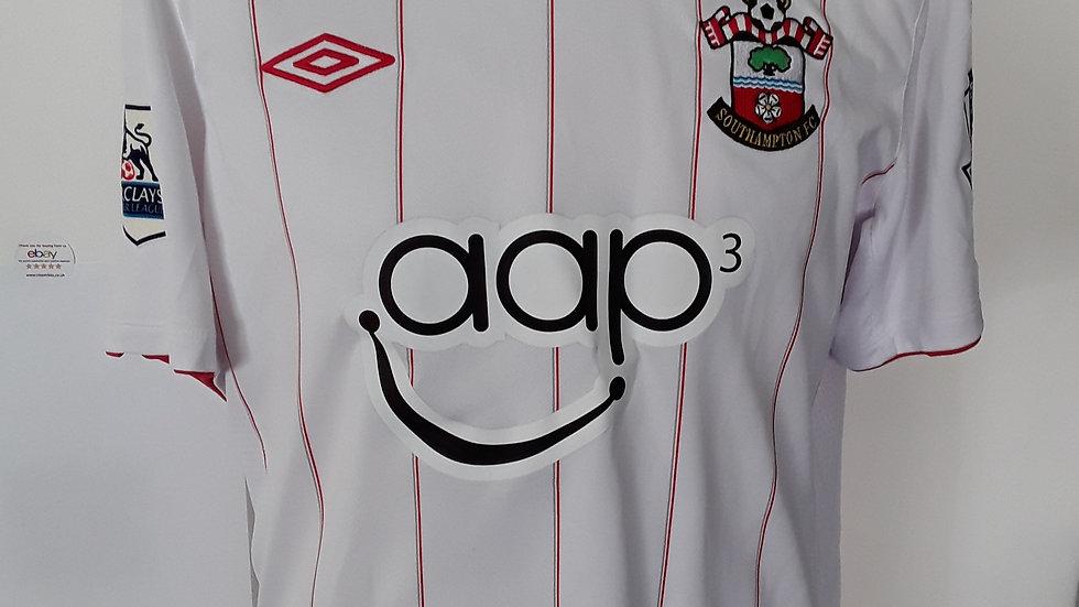 Match Worn Jack Cork Southampton Shirt. M