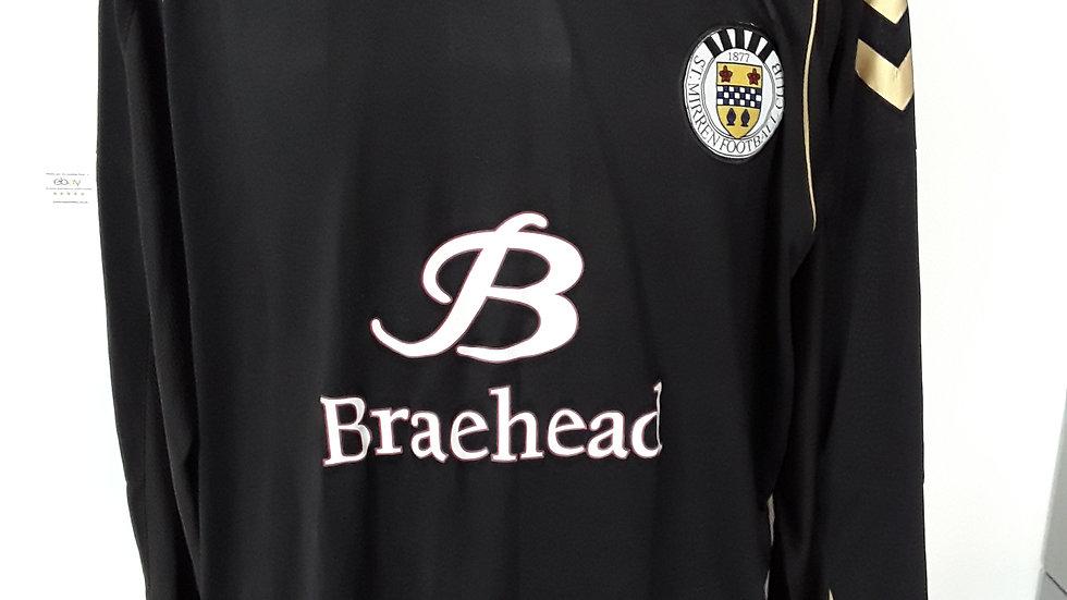 St Mirren Shirt 2010. L