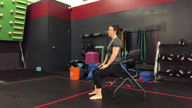 Movement Minute - Chair Flow