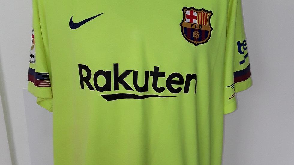 Barcelona Away 2018 Shirt. XL