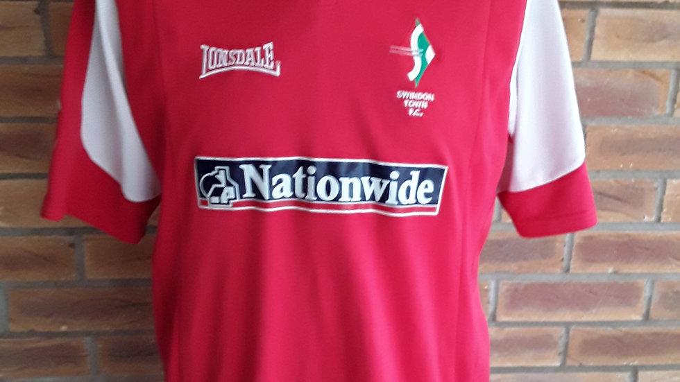 Swindon Town FC Home Shirt 2005
