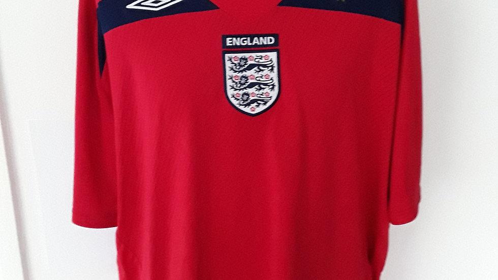 Vintage England Away Shirt 3XL