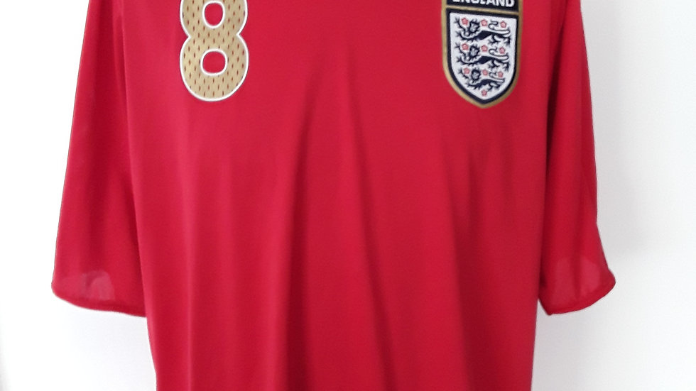England Away Shirt 2006 XXL Lampard 8
