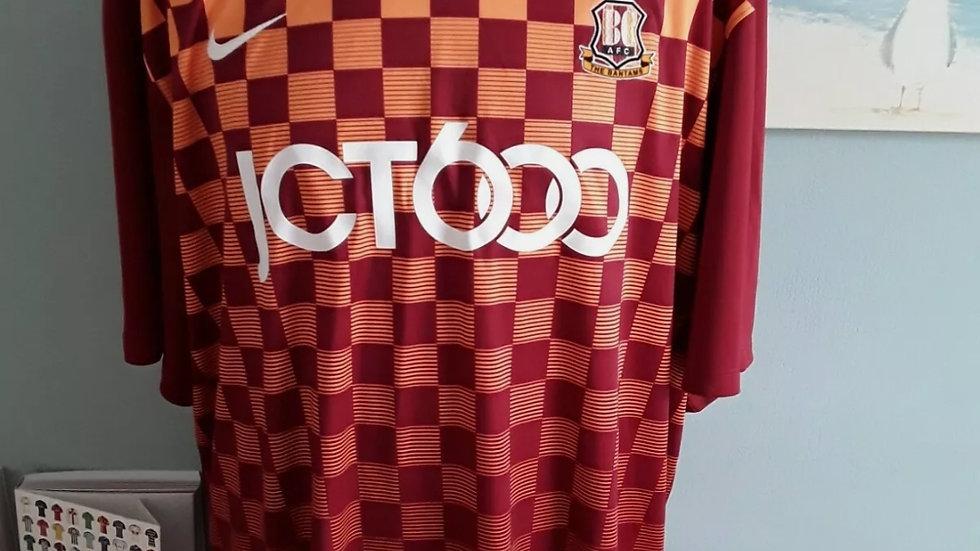 Bradford City Home Shirt 2XL Brand New