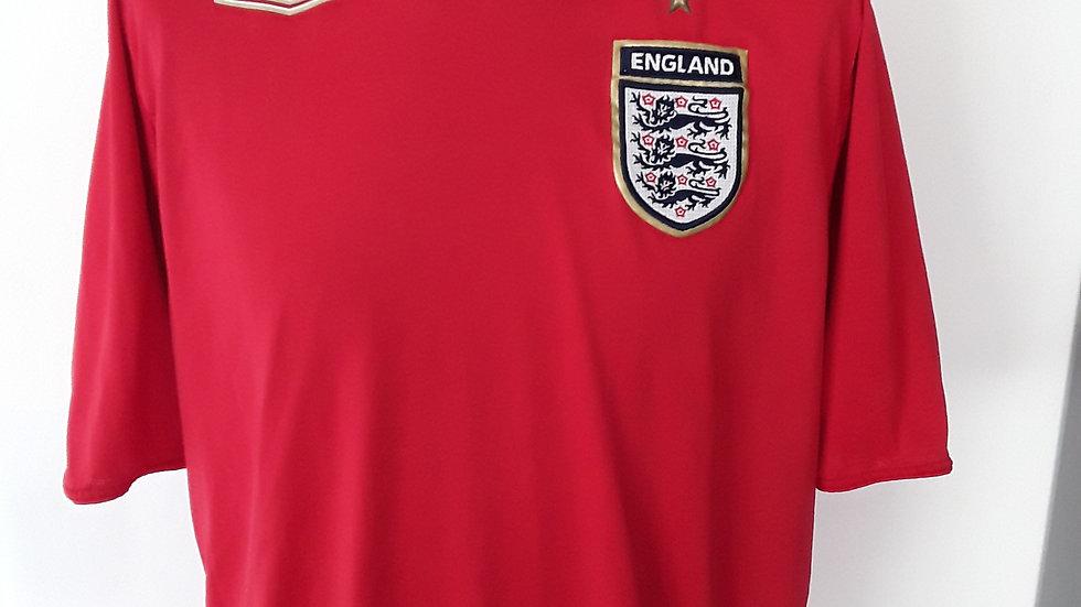 England Away Shirt 2006. Large mens