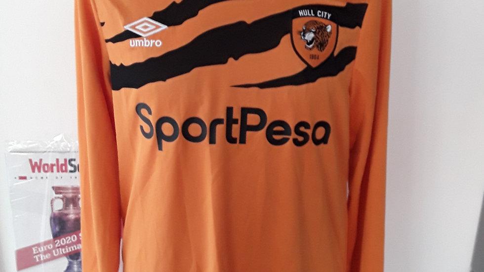 Hull City FC shirt L/S Medium