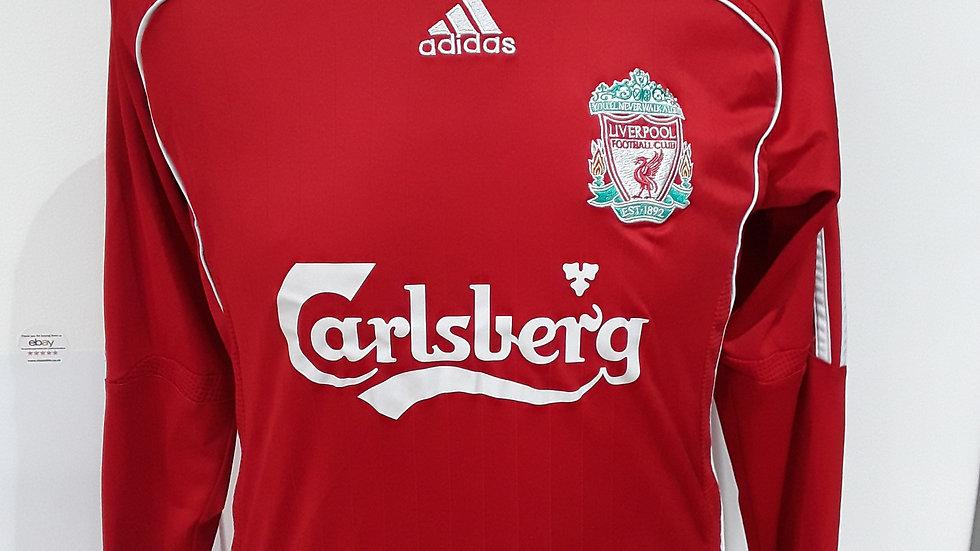 Vintage 2006 Liverpool Home Shirt. XS