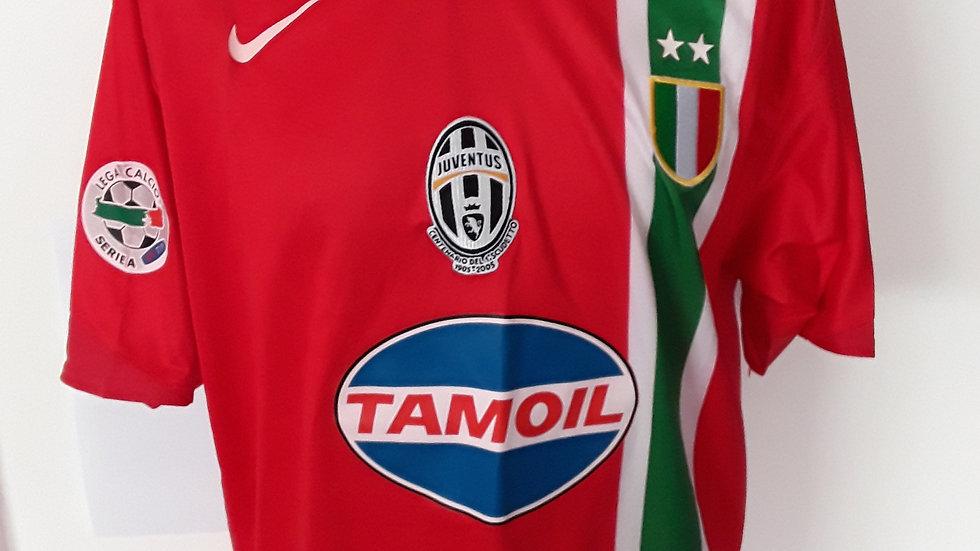 Juventus Away Shirt 2005 XL