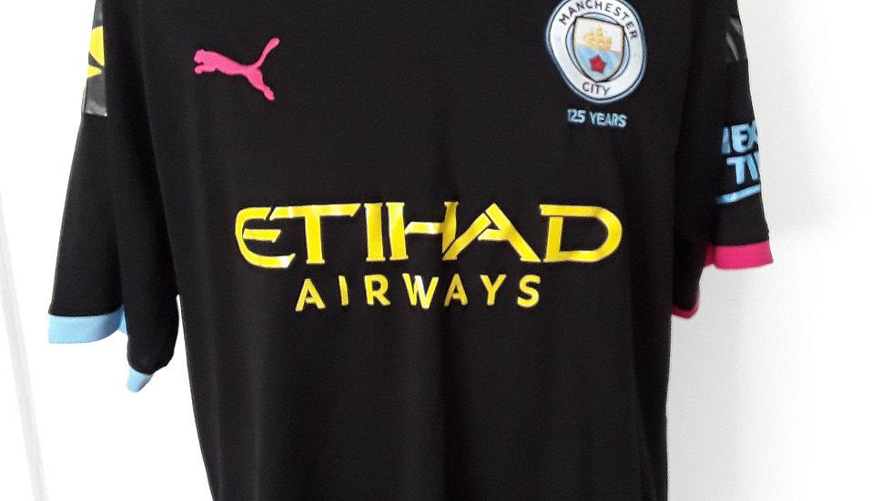 Manchester City Away Shirt XXL