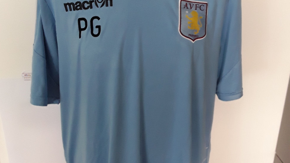 Aston Villa Club Issue Training Shirt.