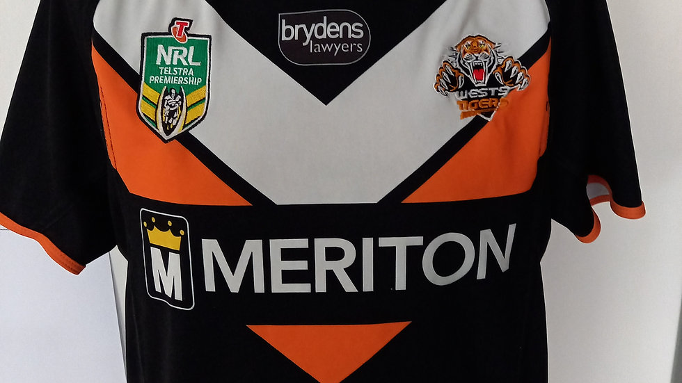Wests Tigers Rugby League Shirt S